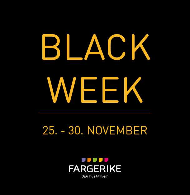 Black Week Fargerike