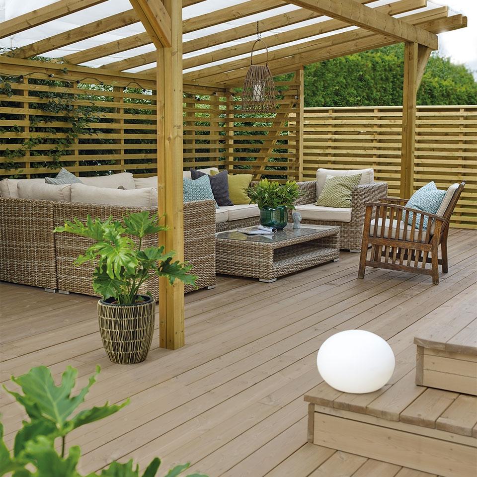 Nyt terrassen og sommeren!