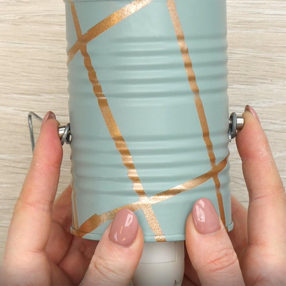 Spraymaling lampe Redesign metallbokser | Fargerike