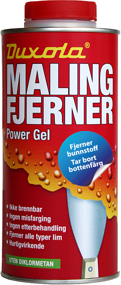 Duxola Power Gel Malingsfjerner - 750 ml