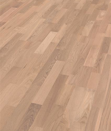 Saga Parkett Basic Pearl White Oak