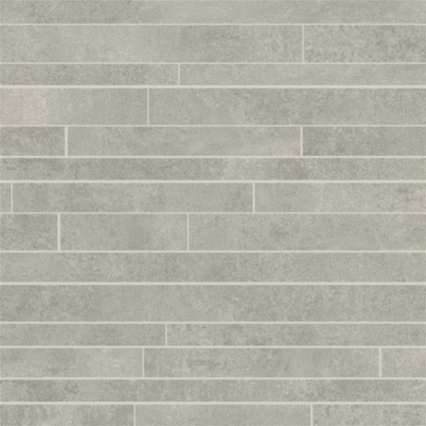 Våtrom Aquarelle Vegg - Brick Neutral Grey - 2 m