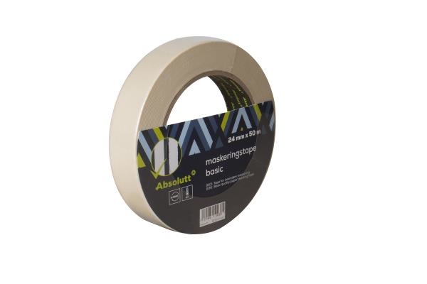 Absolutt Maskeringstape Basic 24 mm x 50 m